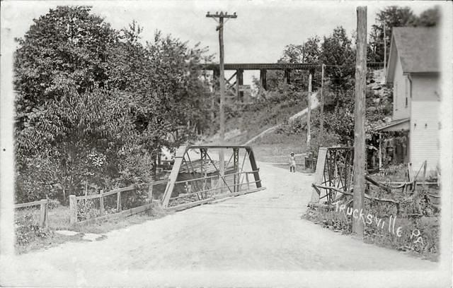 Carverton iron bridge