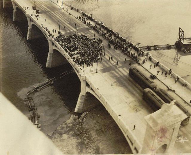1929 Opening ceremonies of the Market Street Bridge