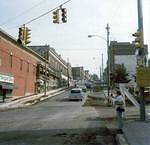 September 18, 1978 - Street repairs on Market and Main Streets, Nanticoke.