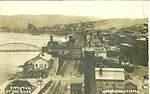 Pittston – That bridge is now where the Fort Jenkins bridge stands today