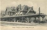 Lehigh Valley Rail Road Depot, Wilkes-Barre