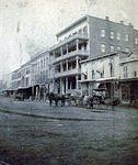 North side of Public Square looking from the east side c. 1870s