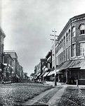 West Market Street towards the river 1885