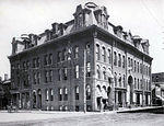 Wilkes-Barre Music Hall, corner of Market and River Streets - taken in the 1890s (where Sterling Hotel was)